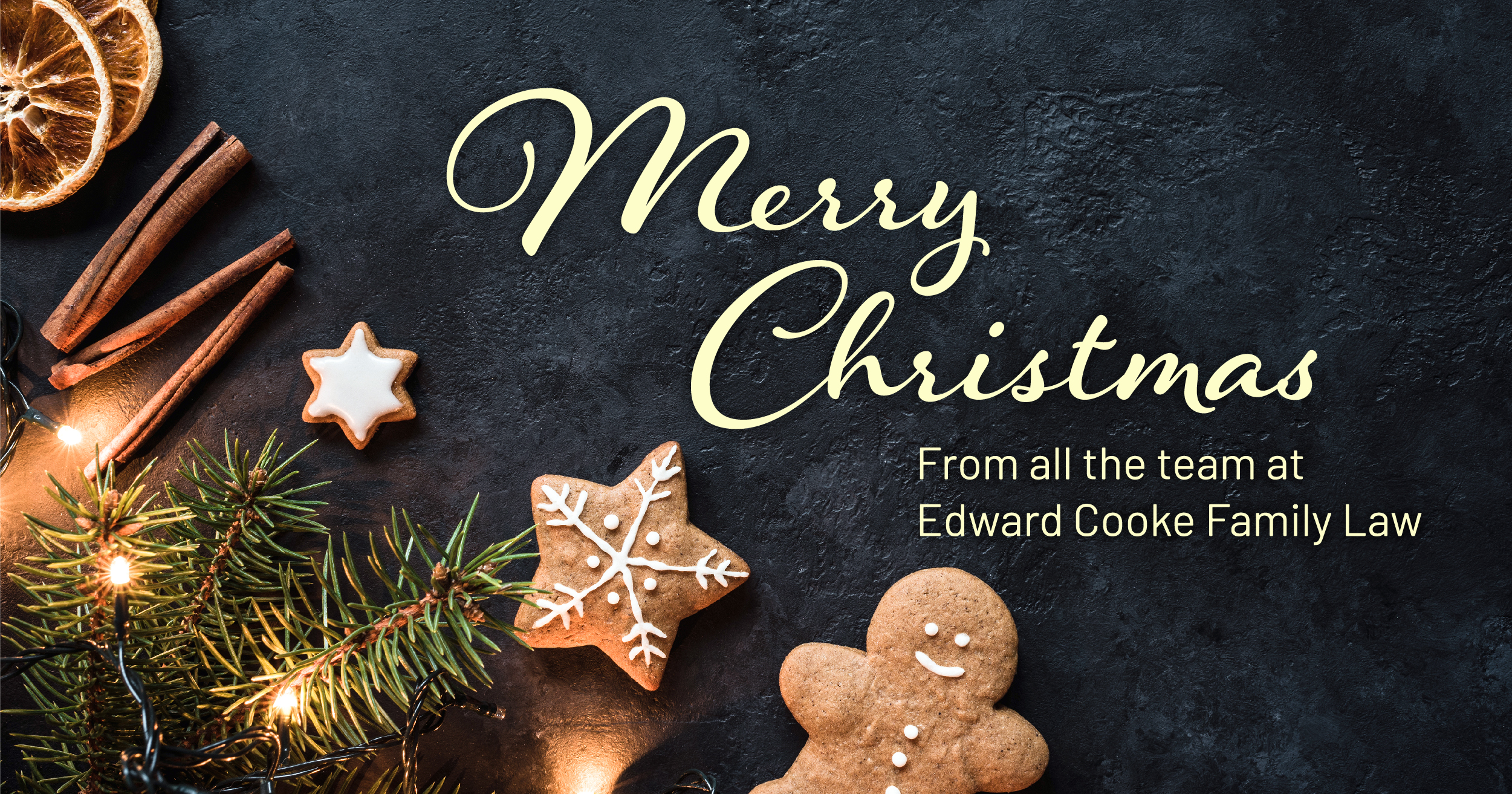 Merry Christmas from Edward Cooke Family Law